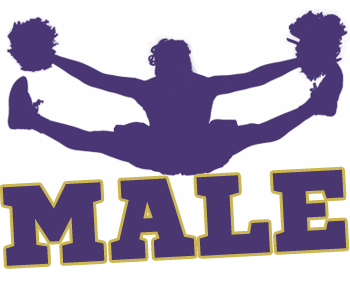 Male Cheerleading Logo