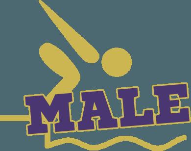 Male Swimming Logo