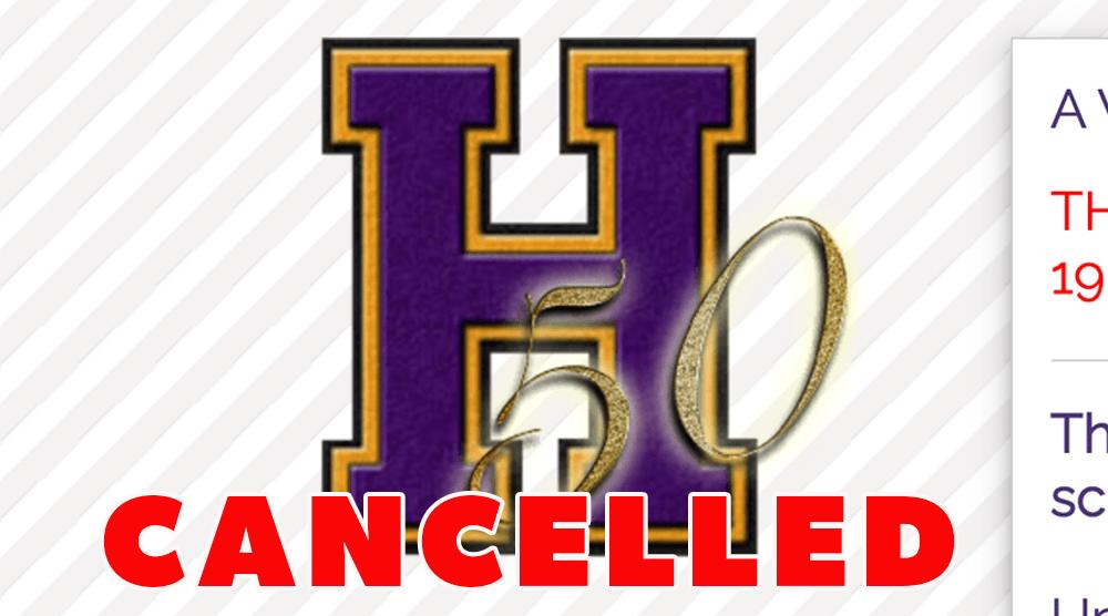 50 Year Club Luncheon Cancellation